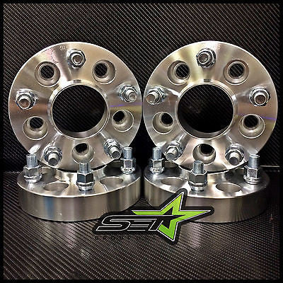 4 Wheel Hub Centric Adapters 5x120.7 ¦ 5x4.75 Camaro Corvette Spacers 1.25/""