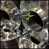 5X100 Wheel Spacers Kit Fr-S, Brz, Wrx, Hub Centric | 25Mm 1 Inch | 12X1.25 - Set Group USA - 5