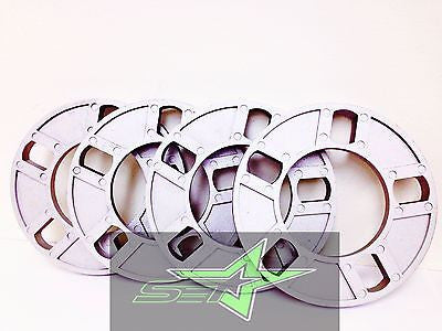 "4 WHEEL SPACERS 1/2"" THICK FITS ALL 5X108, 5X4.25, 5X112, 5X120, 5X130,12MM USA - Set Group USA - 1"