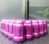 20 Purple Spline Tuner Racing Lug Nuts | 12X1.5 | Fits Most Jdm Honda Acura | - Set Group USA - 1