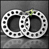 4X 8 Lug Aluminum Wheel Spacers 1/2 Inch Thick 12Mm Fits All 8X6.5 8X170 8X165.1 - Set Group USA - 2