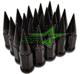 20 Black Spike Lug Nuts For Ford F-150 Expedition Navigator Truck Wheels 14x2 OEM Thread