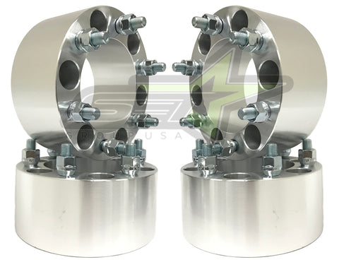"4 Chevy Gmc Cadillac Wheel Spacers | 6X5.5 | 3"" Inch (75Mm) 