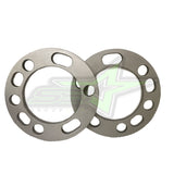 4X 5 LUG OR 6 LUG WHEEL SPACERS | 1/2 INCH THICK 12MM | 5X5.5, 6X5.5, 5X135, 6X135