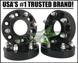4 WHEEL SPACERS 6X135 1.5 INCH HUB CENTRIC | FOR 2015+ FORD RAPTOR F150 EXPEDITION NAVIGATOR 14x1.5 STUDS