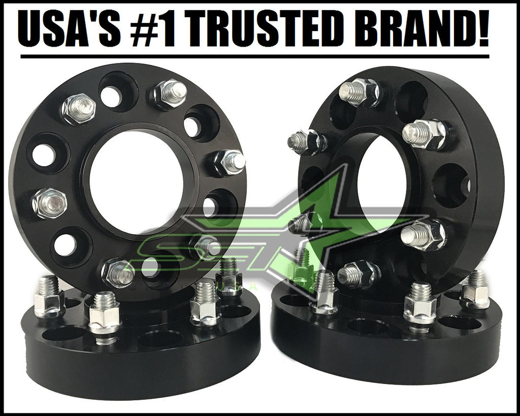 4 WHEEL SPACERS 6X135 2 INCH HUB CENTRIC FORD RAPTOR F150 EXPEDITION NAVIGATOR 2015-2018 MODELS ONLY | 14X1.5 STUD