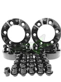 Toyota Wheel Spacers Hub Centric 6x5.5 2 Inch Thick +24 Free OEM Mag Lug Nuts 106 Center bore 12x1.5 Studs FJ Cruiser, 4Runner, Tacoma, + more!