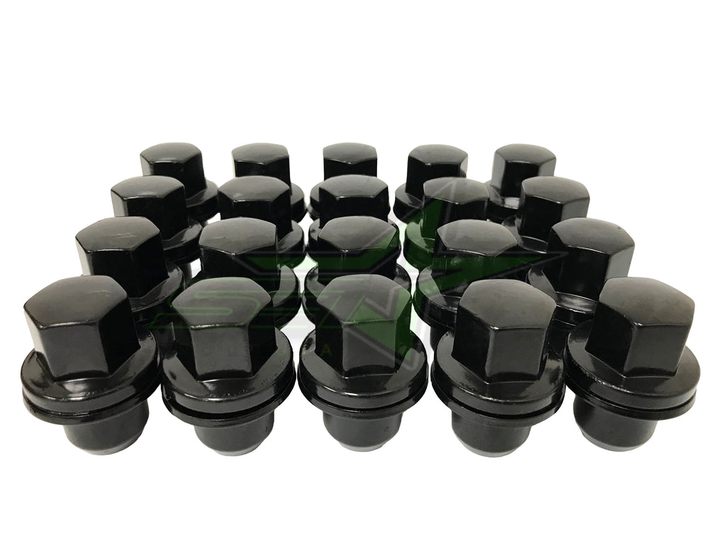 Range Rover Factory Style OEM Lug Nuts 14x1.5 | Fits Range Rover LR2 LR3 LR4 Discovery Evoque