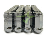"24 Chrome Truck Lug Nuts 14X1.5 | Fits Most Chevy Gmc Cadillac Trucks | 1.9""Tall"