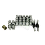 GORILLA AUTOMOTIVE WHEEL INSTALLATION KIT 12X1.5 PERFECT FOR ALL 6 LUG TRUCKS!  + FREE WHEEL LOCKS & VALVE STEMS