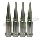 "24 DODGE DURANGO, DAKOTA CHROME SPIKE LUG NUTS + KEY | 1/2""-20"