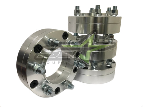 "4 Hub Centric Wheel Adapters 5x150 TO 6x5.5 | Use 6 lug Wheels On 5 Lug Truck | 2"" INCH THICK 