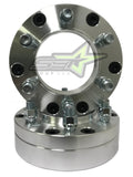 "4 Hub Centric Wheel Adapters 5x5 TO 6x135 | Use 6 lug Wheels On 5 Lug Truck | 2"" Inch Thick 14x1.5 Studs"