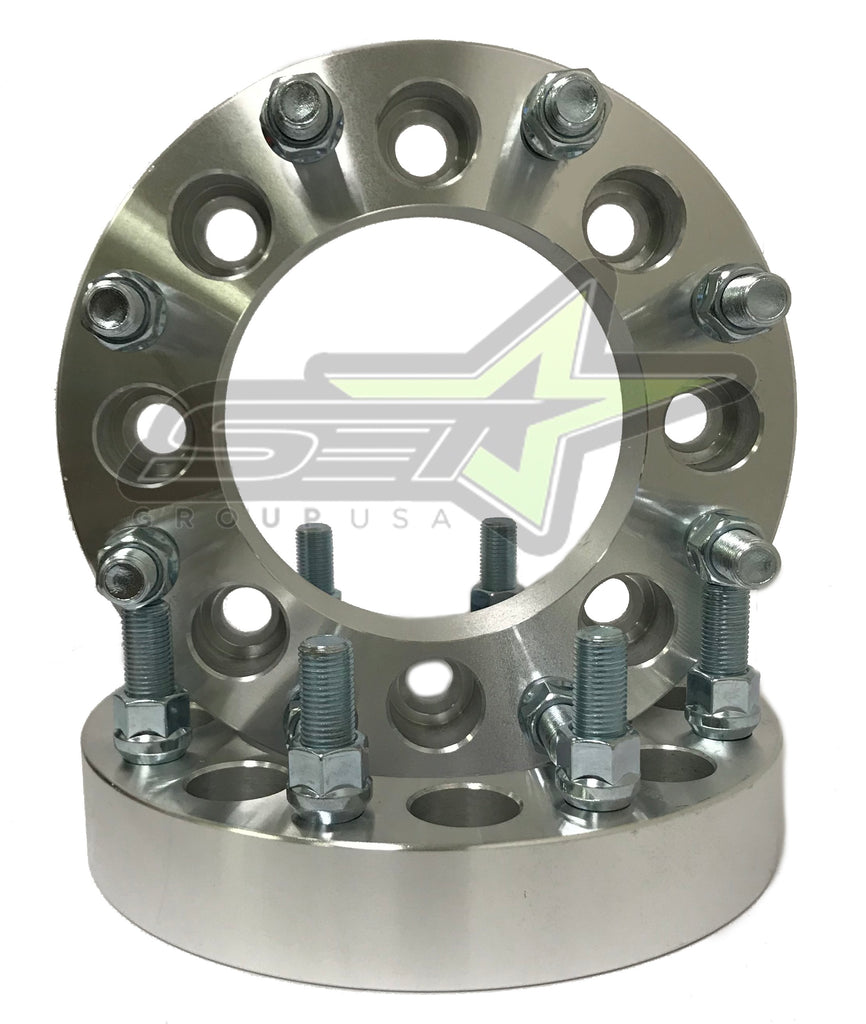 "8X6.5 Wheel Spacers | Adapters | 9/16 | Dodge Ram | Ford F-250 F-350 | 1.5"" Inch"