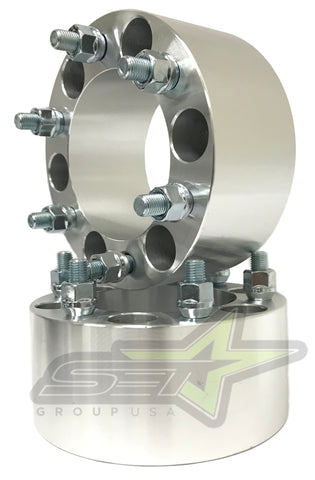 "2 Toyota Wheel Spacers | 6X5.5 | 3"" Inches 