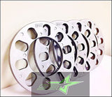 6 Lug Wheel Spacers 1/4 Inch Thick 6Mm | Fits All 6X5.5, 6X139.7, 6X135, 5X135 - Set Group USA - 2