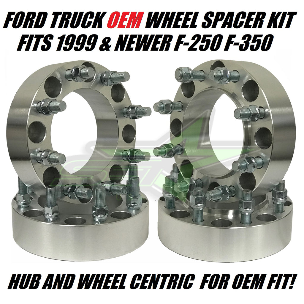 8X170 Hub Centric Wheel Spacers For Ford F-250 F-350 Super Duty Excursion Trucks | For OEM Wheel Spacing
