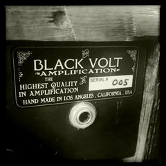 """""""Black Volt not only offers the highest quality in amplifier repair to anyone in the USA, but they also offer a boutique handmade new amplifier line. Each amp is handmade, numbered and signed by Gio"""""""