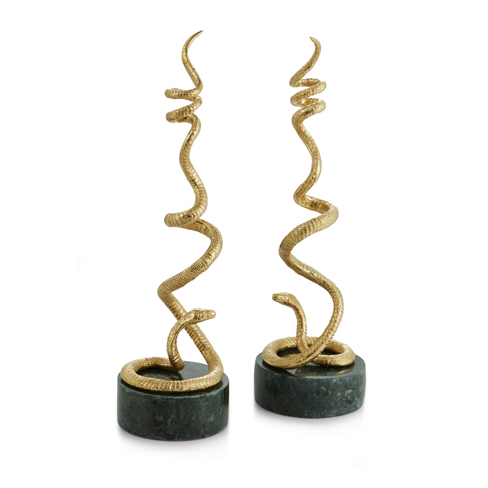 Michael Aram Rainforest Candleholders - china-cabinet.com