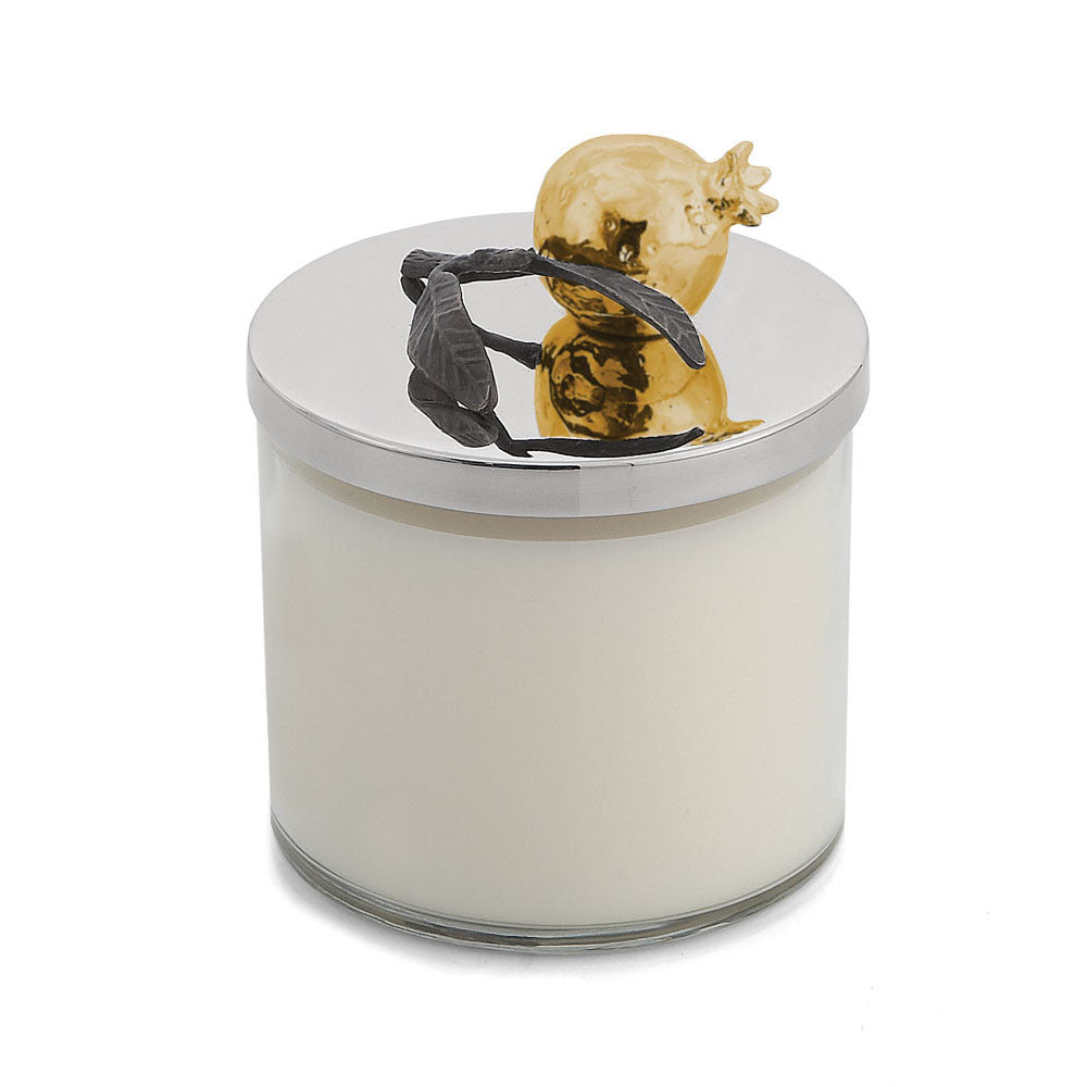 Pomegranate Gold Candle - china-cabinet.com