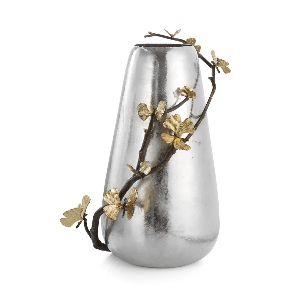 Michael Aram Butterfly Ginkgo Centerpiece Vase - china-cabinet.com
