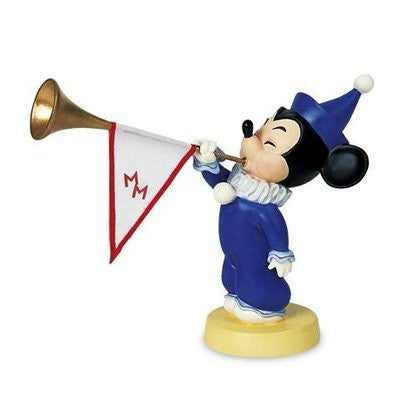 Figure Disney WDCC Mickey 'Sound the Trumpets' Walt Disney's Mickey Mouse Club # 1235190 - china-cabinet.com