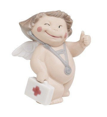 Lladro NAO Porcelain Figurine Get Well Soon - china-cabinet.com