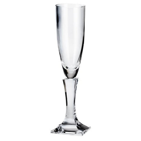 Moser Crystal Lancelot Clear Champagne Flute