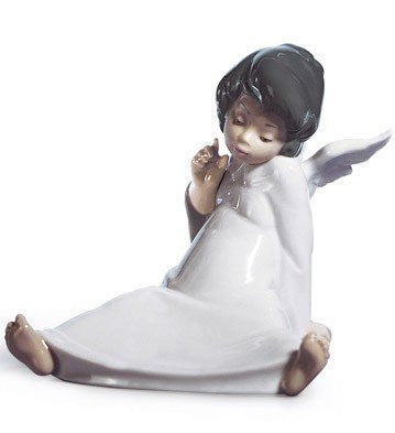 Lladro Angel Wondering by Lladro