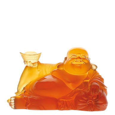 Happy Buddha - china-cabinet.com