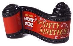 WDCC Mickey Mouse Nifty Nineties Opening Title Plaque