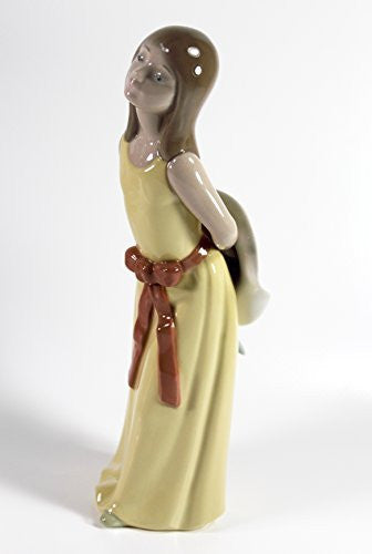 "Lladro ""Naughty Girl with Straw Hat"" - china-cabinet.com"