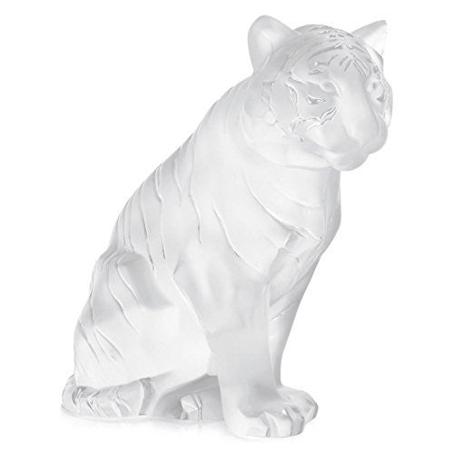 Lalique Tiger Figurine, Small - china-cabinet.com