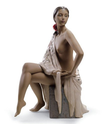Lladro Nude with Shawl - china-cabinet.com