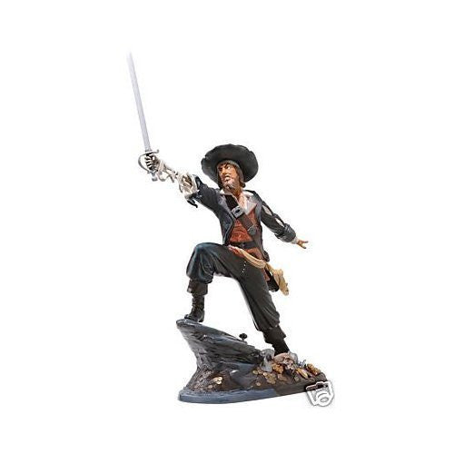 Figure Disney WDCC Pirates of the Caribbean Jack Will Turner 'Captain Barbossa' - china-cabinet.com