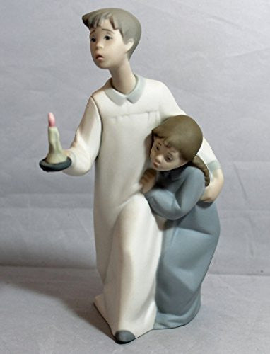 Lladro Matte, 4874 Boy & Girl - china-cabinet.com