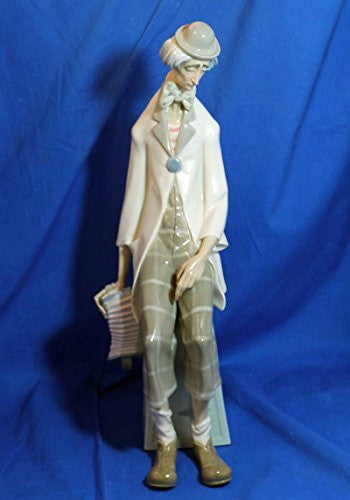Lladro Figurine, 1027 Clown with Concertina