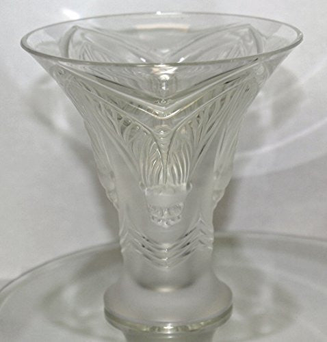 Lalique Crystal Vase 12549 - Cigales Bud Vase - china-cabinet.com
