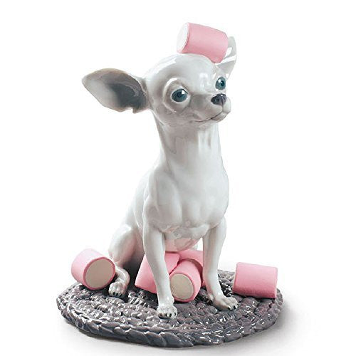 Lladro Chihuahua With Marshmallows Figurine - china-cabinet.com
