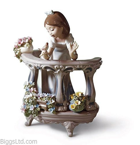 Lladro Porcelain Figurine Morning Song