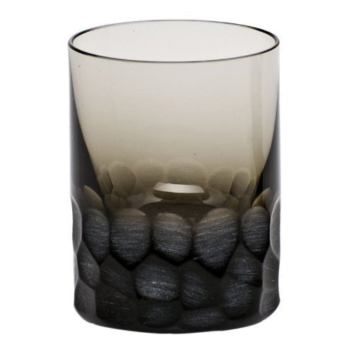 MOSER CRYSTAL PEBBLES Shot glass 2 oz. smoke - china-cabinet.com