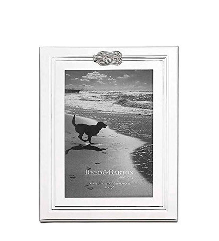 "Halston Silverplate 4"" x 6"" Frame by Reed and Barton"