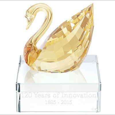 Swarovski Scs Swan Event Piece 2015 - 120 Years of Innovation - 5137830 Nib by Swarovski - china-cabinet.com