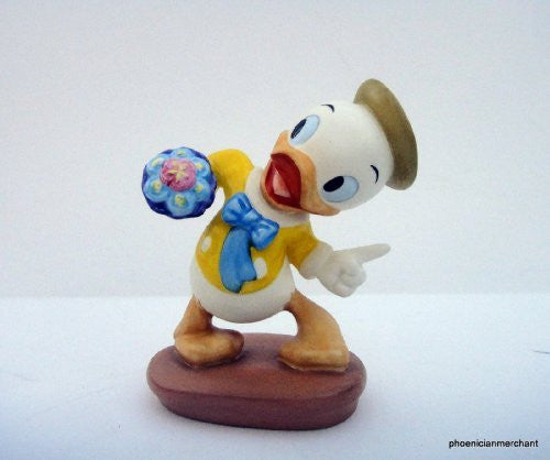 "WDCC Disney Classics Mr Duck Steps Out ""Tag-Along Trouble"" - china-cabinet.com"