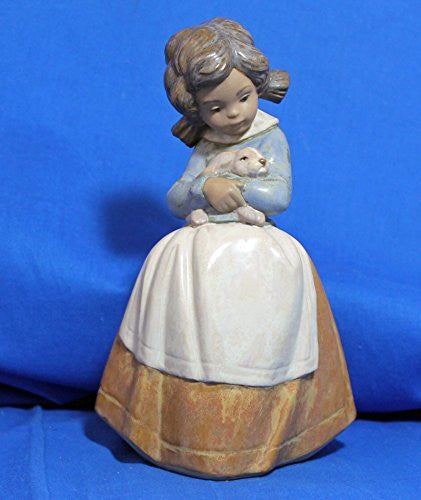 Lladro Tenderness (Girl holding Bunny) - china-cabinet.com