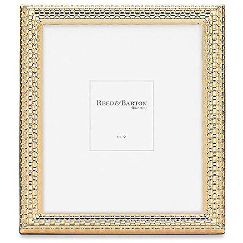 WATCHBAND Satin Gold 8x10 frame by Reed & Barton® - 8x10
