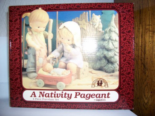 Memories of Yesterday Porcelain 1994 Nativity Pageant - 4 Piece Set - china-cabinet.com