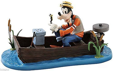 Disney WDCC Goofy and Wilbur ''Fishing Follies'' Figurine by Disney