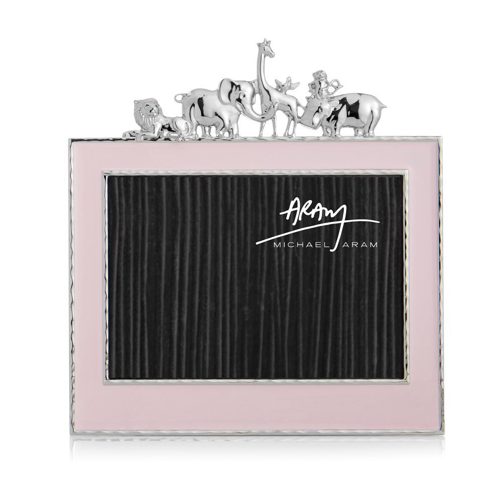 Pink Enamel Photo Frame - china-cabinet.com