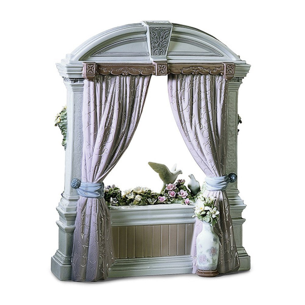 Lladro Window in Springtime - china-cabinet.com